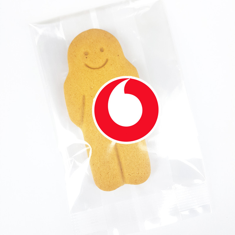 Branded Gingerbread Cookie Packet