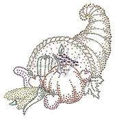 Ovrs4697 - Thanksgiving Cornucopia