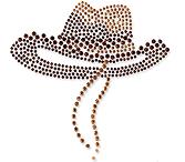 Ovrs302 -  Western Cowboy Hat
