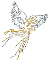 Ovrs1032 - Silver & Gold Angel