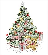 Ovrs1549 - Christmas Tree with Presents