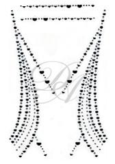 Ovrs4630 - Geometric Decor Neckline