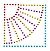 Ovrs1710 - Fan in a Square