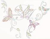 Ovrs4660 - Butterfly Trail Neckline