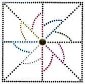 Ovrs1716 - Pin Wheel Sewing