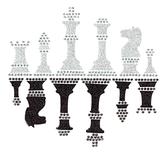 Ovrg009 - Glitter Chess - ON SALE!
