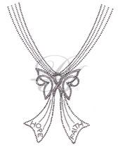 Ovrs5317 - Hope / Faith Cancer Ribbon V Neckline