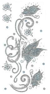 Ovrs7215 - 3 Butterflies Swirl Trail