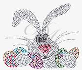 Ovrs6494 - Easter Bunny with Eggs