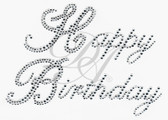 Ovrs4770 - Clear Happy Birthday