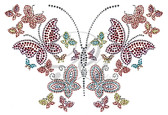 Ovrs6129 - Zipper with Butterflies