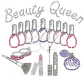 Ovrs4439 - Beauty Queen w/Beauty Kit Nail Polishes and Make-up