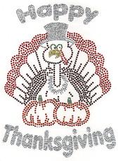 Ovrs4690 - Happy Thanksgiving Turkey