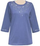 Style # 1006 - Lavender w/Design # Ovrs1042 - Silver