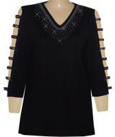 Style # 1711 - Black w/Design # Ovrs42V