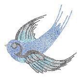 Ovrs2833 - Blue Bird