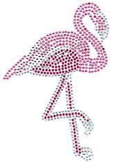 Ovrs1682 - Large Pink Flamingo