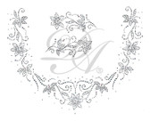 Ovrs4933 - Square Neckline Mini Flowers