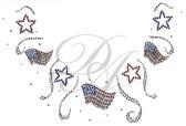 Ovr70 - Stars and Flags Round Neckline
