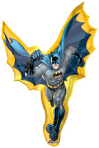"39"" Batman Action Shape Super Shape Balloon"