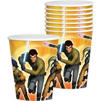 Star Wars Rebels 9 Oz Cups 8 Count