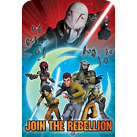 Star Wars Rebels Invitations 8 Count