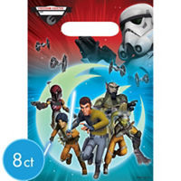 Star Wars Rebels Loot Bags 8 Count