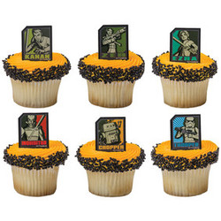Star Wars Rebels Regiment 12 Shaped Cupcake Rings