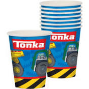 Tonka 9oz Cups 8 Count