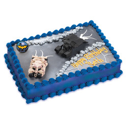 Batman the Dark Knight Rises Cake Decorating Set