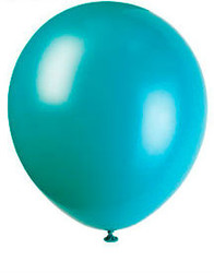 Teal Green (AquaMarine) Latex Balloons 8 Pack