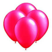 Hot Pink (Magenta ) Latex Balloons 8 Pack