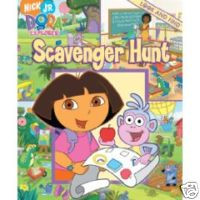 Dora Mini Look & Find Book