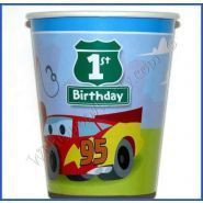 Cars 1st Birthday 9 Oz Cups 8pk