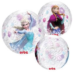 """Disney's Frozen 16"""" Clear Orbz Balloon"""