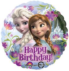 "Frozen Happy Birthday Standard 17"" Foil Balloon"