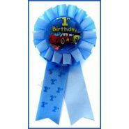 Cars 1st Birthday Award Ribbon
