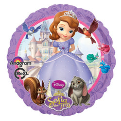 "Sofia the First 17"" Balloon"