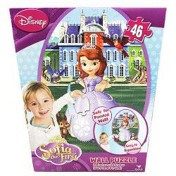Sofia the First 46 Piece Wall Puzzle