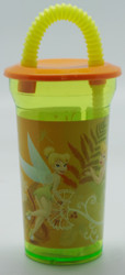 TinkerBell 14Oz Sports Tumbler with Lid& Straw