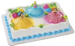 Disney Princess Light Up Cake Decorating Set
