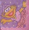 16 ct. Beverage Napkins Sesame Street Zoe Ballerina