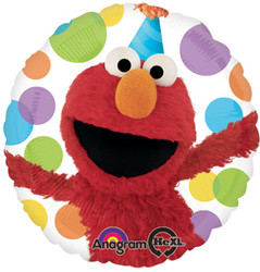 "Elmo Happy Birthday 17"" Foil Balloon"