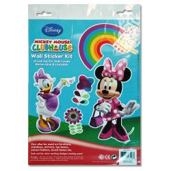 Minnie Mouse Wall Stickers 1 Sheet