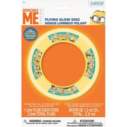 Despicable Me Glow Flying Disc
