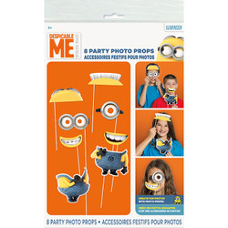 Despicable Me Photo Booth Prop Kit