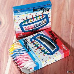 Birthday Candles (24PC-PKG)