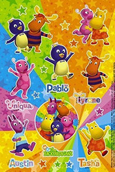 Backyardigans Party Stickers 2 Pack