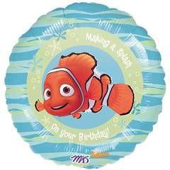 "Finding Nemo Happy Birthday 18"" Balloon"
