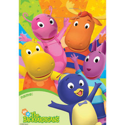 Backyardigans Party Treat Sacks 8 Pack